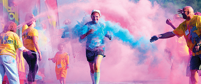 5k Training Plans - The Colour Run