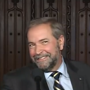 Mulcair smile