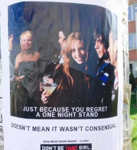 Edmonton anti-rape group's poster campaign co-opted