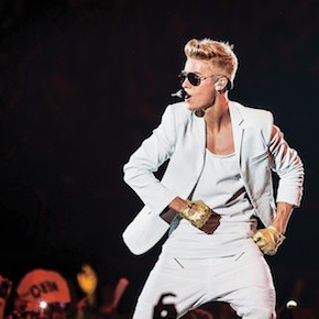 Justin Bieber In Concert In Paris
