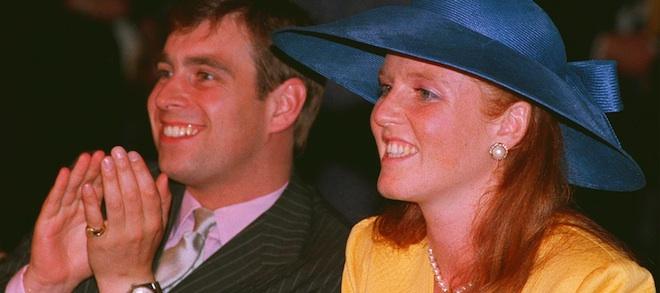 The Duke and Duchess of York, in 1987. (CP PHOTO/Bill Becker)