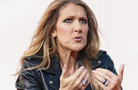 Céline Dion in conversation