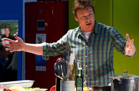 Jamie Oliver on health, wealth and better eating habits
