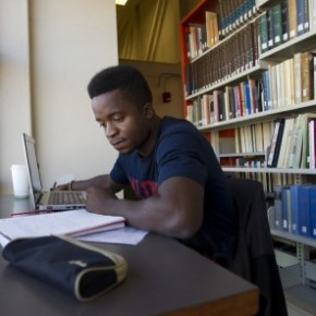Samuel Okwudili studies at the University of Winnipeg (Marianne Helm)