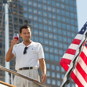 Leonardo DiCaprio stars in Martin Scorsese's The Wolf of Wall Street (Paramount)