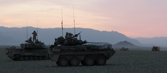 Canadian military involvement in Afghanistan ends