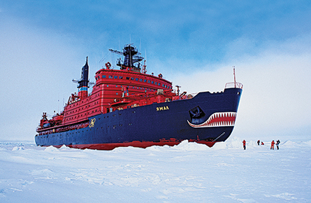 Canada and Russia battle for the Arctic