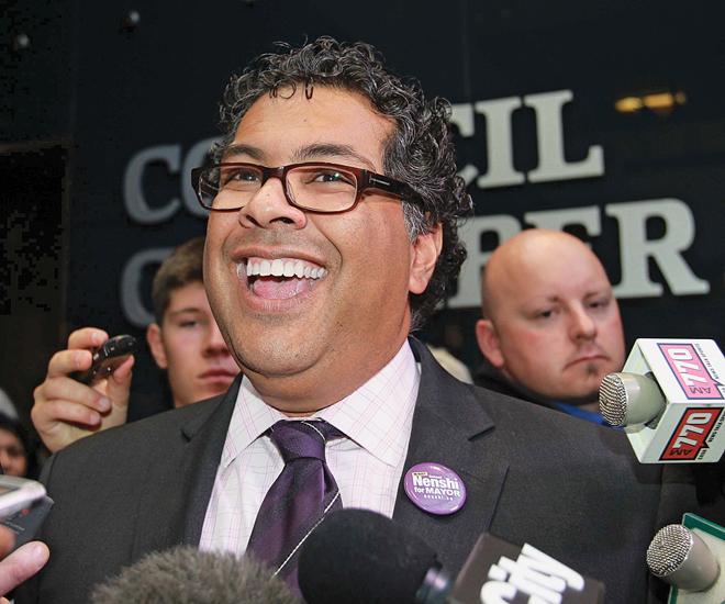 Naheed Nenshi (Darren Makowichuk/Calgary Sun/QMI Agency)