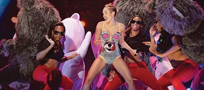 Apologise, Miley cyrus makes a prono curious