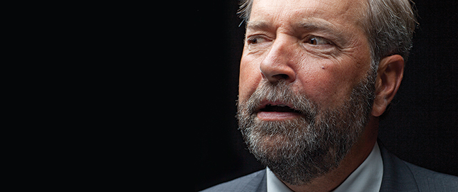 Tom Mulcair (Photo by Andrew Tolson)