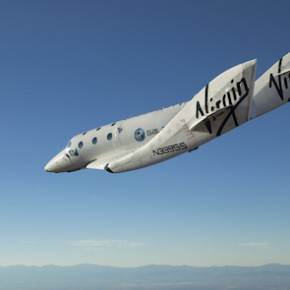 SpaceShipTwo VSS Enterprise in flight