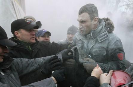 Vitali Klitschko: the heavyweight of Ukraine's uprising