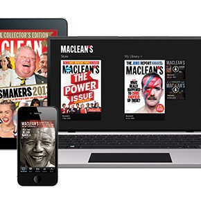 Maclean's digital covers
