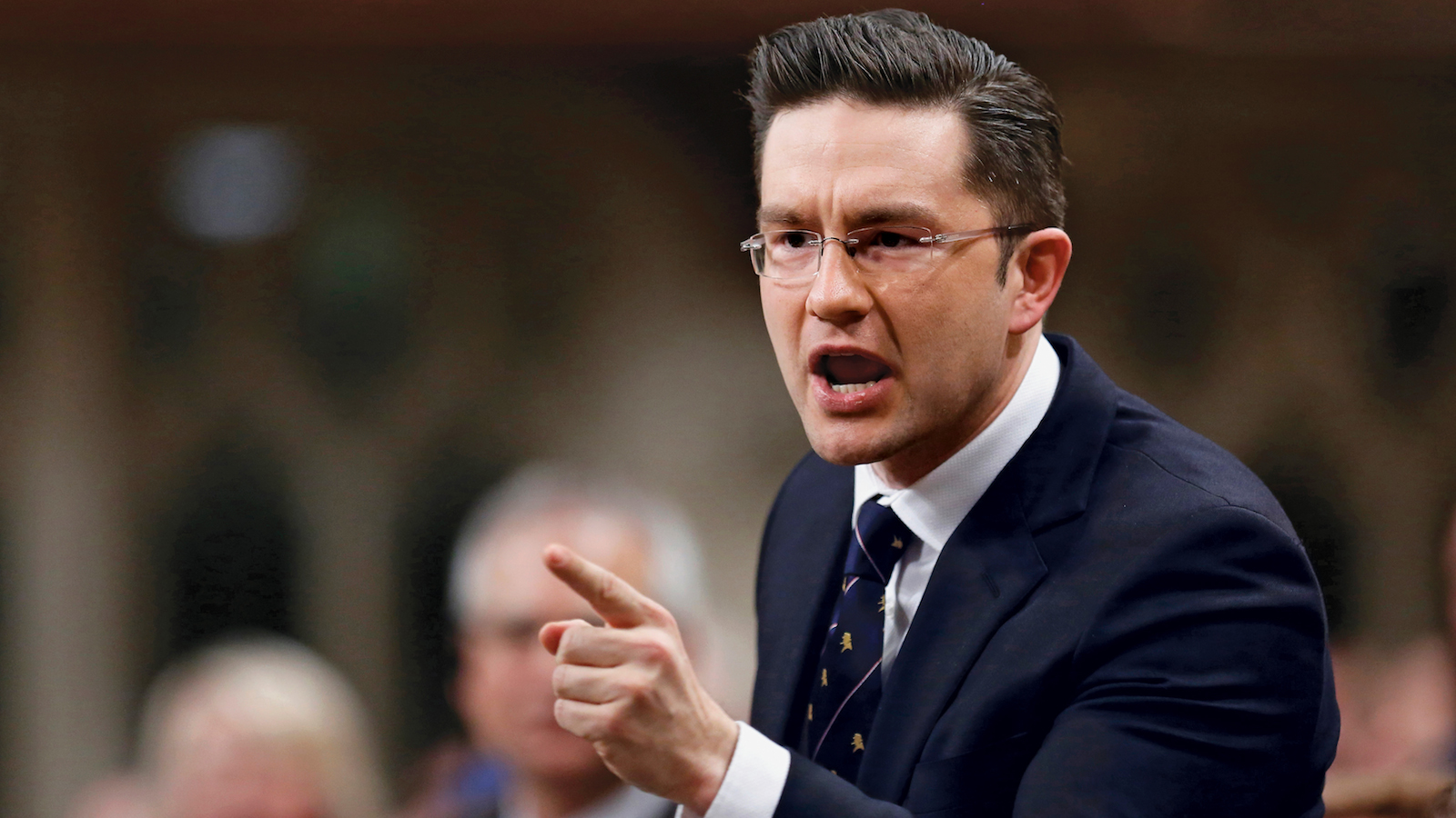 Canada's Minister of State for Democratic Reform Pierre Poilievre. (Chris Wattie/Reuters)