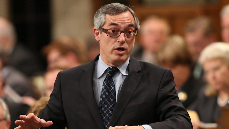President of the Treasury Board Tony Clement . (Patrick Doyle/CP)
