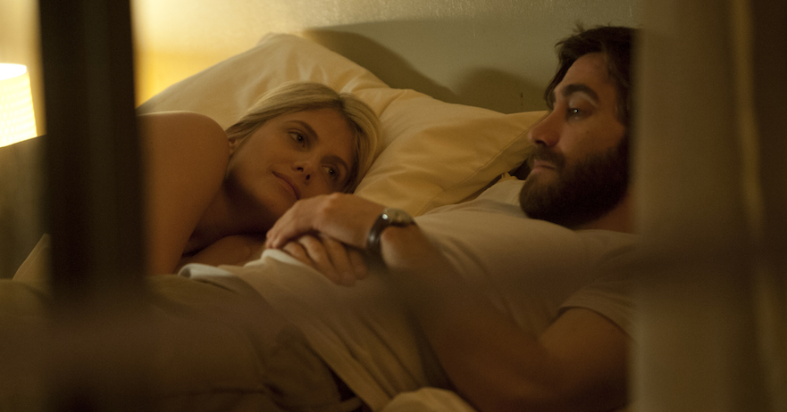 Jake Gyllenhaal and Mélanie Laurent in 'Enemy'