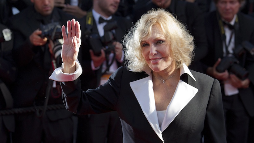 Kim Novak in Cannes in May 2013.
