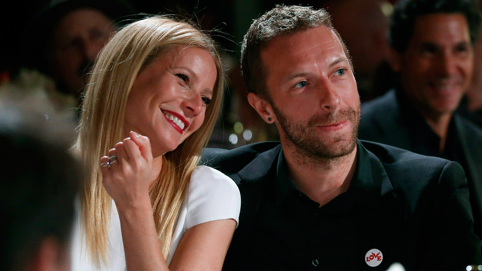 Gwyneth Paltrow, left, and her husband, singer Chris Martin at the 3rd Annual Sean Penn & Friends Help Haiti Home Gala in Beverly Hills, Calif. in January. (Colin Young-Wolff /Invision/AP)