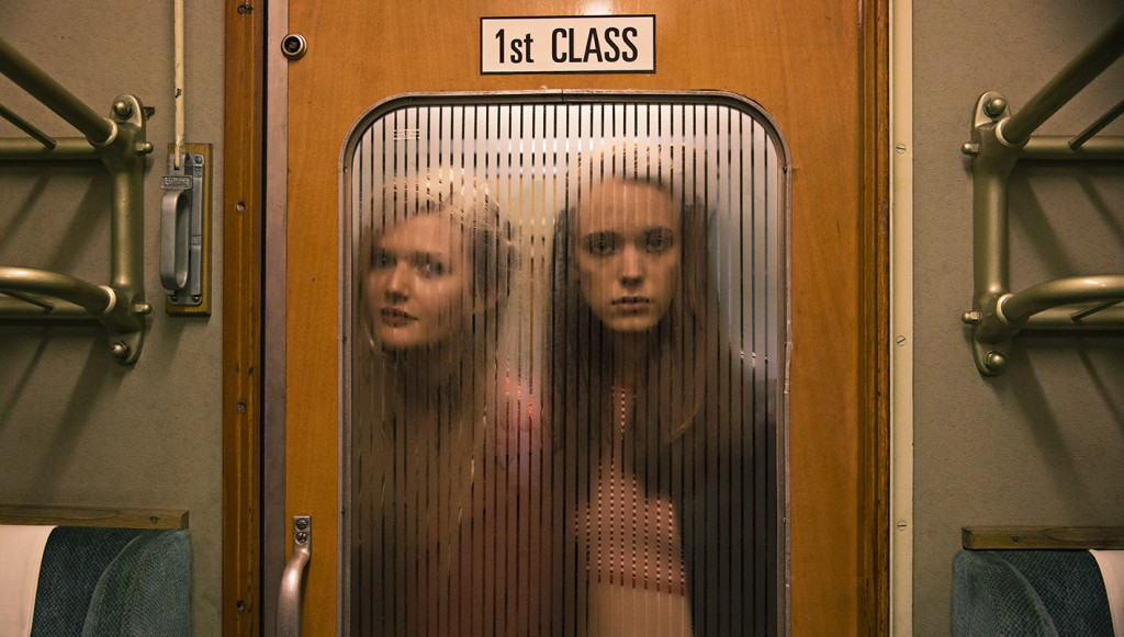 Sophie Kennedy Clark (left) and Stacy Martin /Photo by Christian Geisnaes.