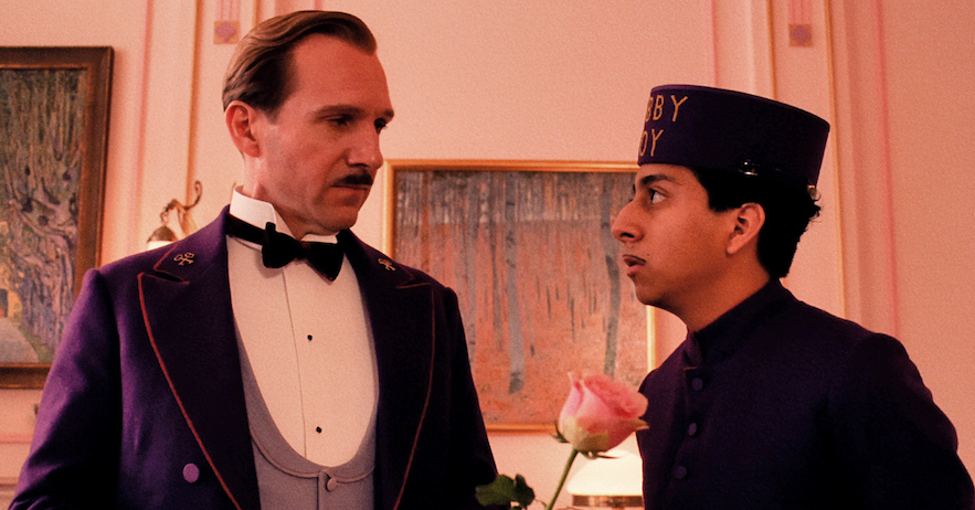 Ralph Fiennes (left) and Tony Revolori in 'The Grand Budapest Hotel'