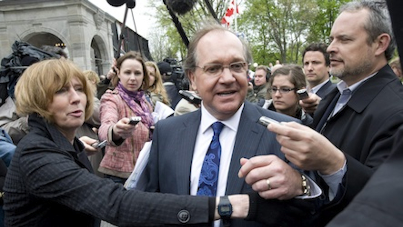 Minister of Aboriginal Affairs Bernard Valcourt. (Adrian Wyld/The Canadian Press)