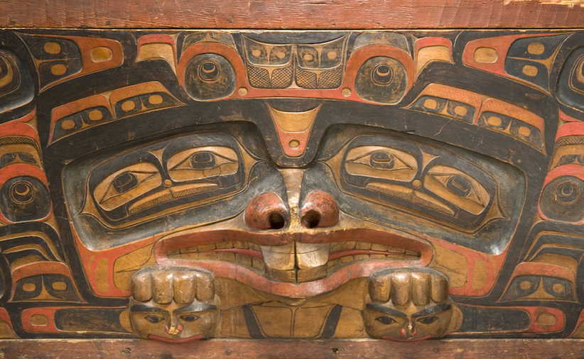 Charles Edenshaw, Bentwood Chest, ca. 1870. (Canadian Museum of Civilization Collection)