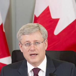 Stephen Harper, Thomas Lawson