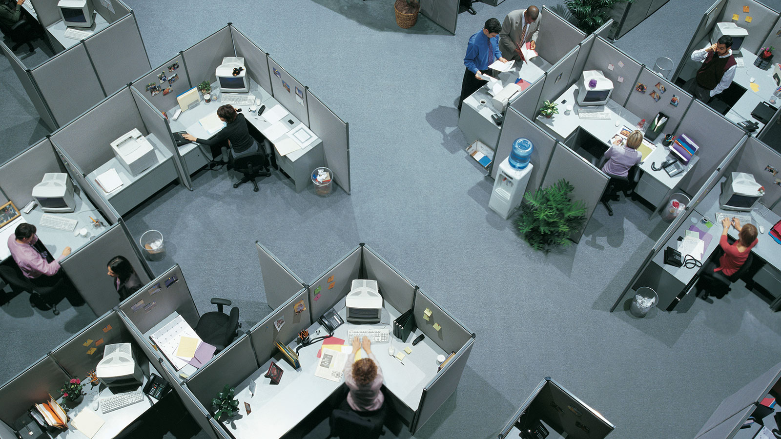 The Hell Of A Perfect Cubicle Filled Office