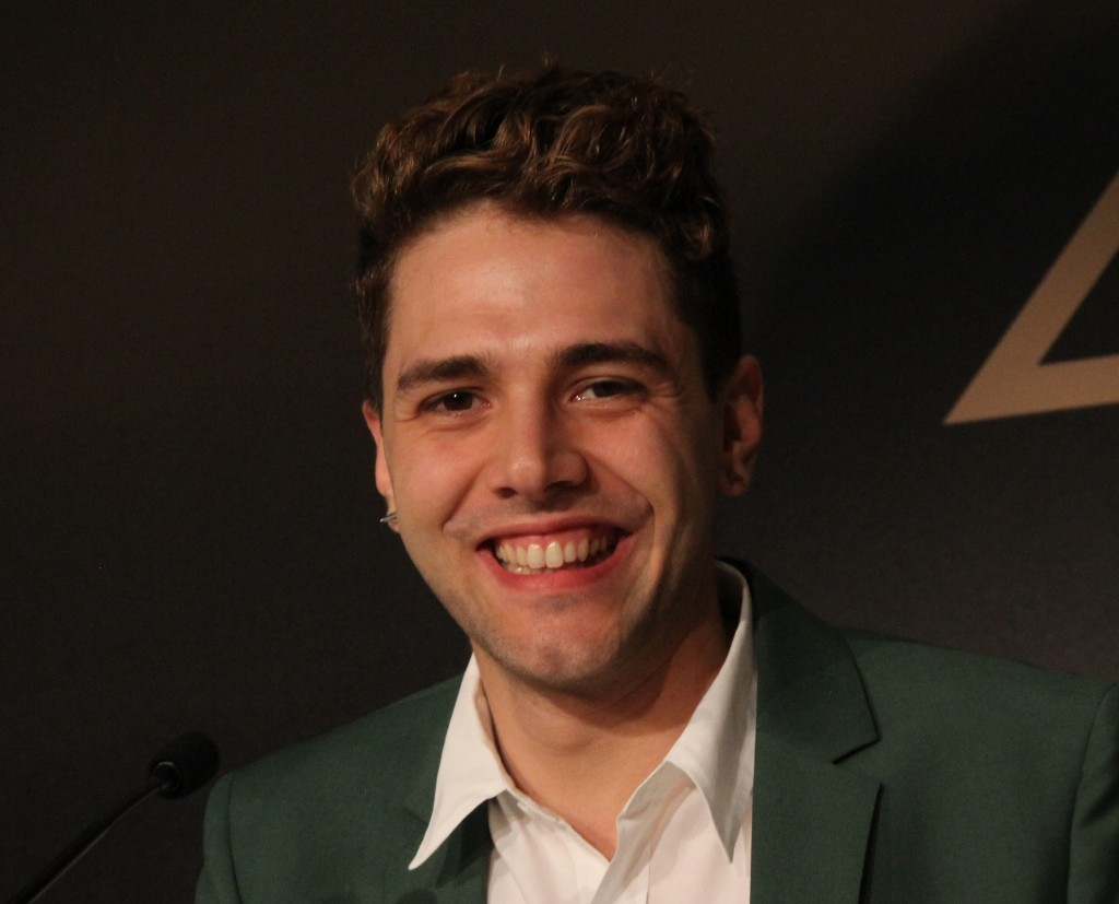 'Mommy' director Xavier Dolan in Cannes / photo by Brian D. Johnson