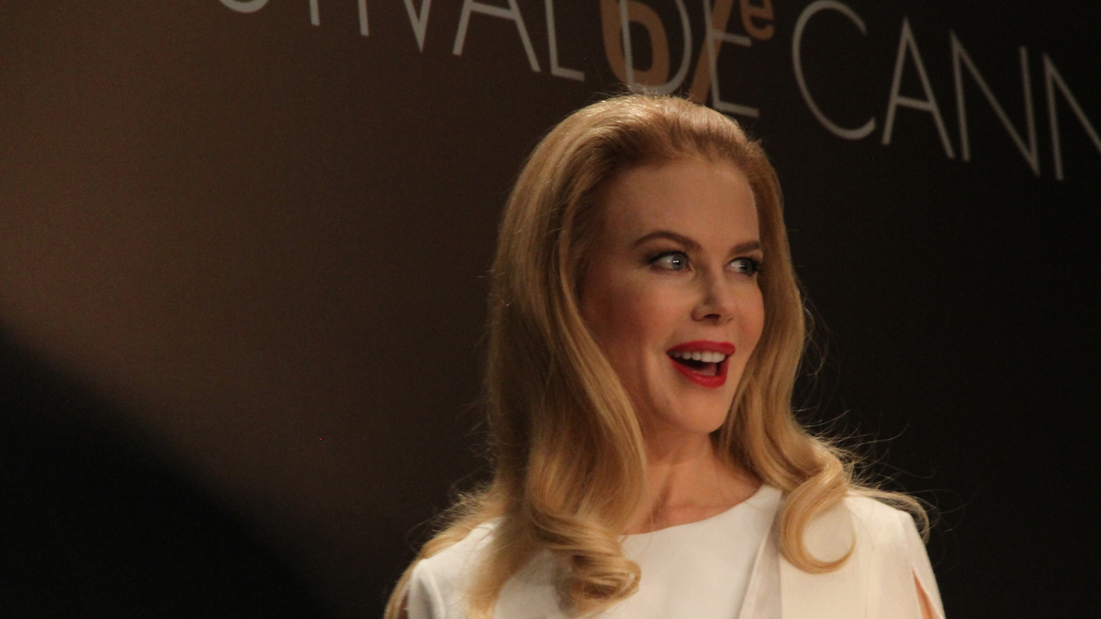 Nicole Kidman in Cannes. (Photo by Brian D. Johnson)