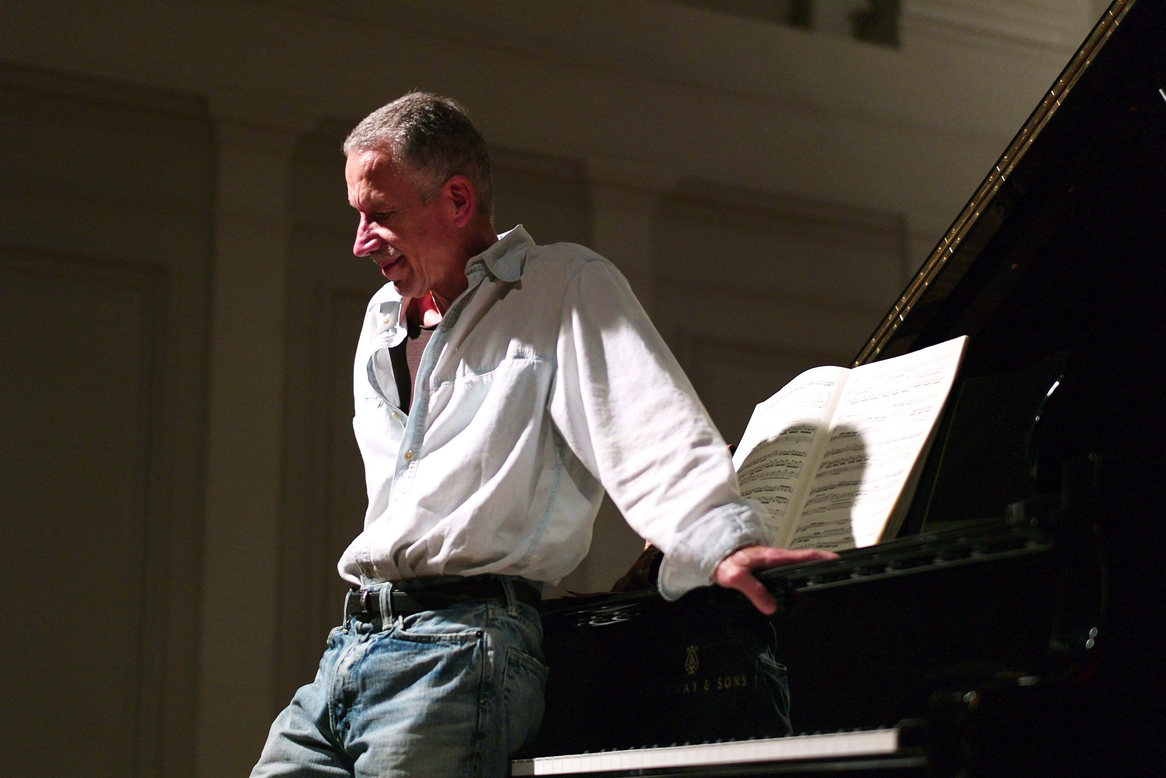 Keith Jarrett at the American Academy of Arts and Letters in New York in 2010. (Handout/AP)