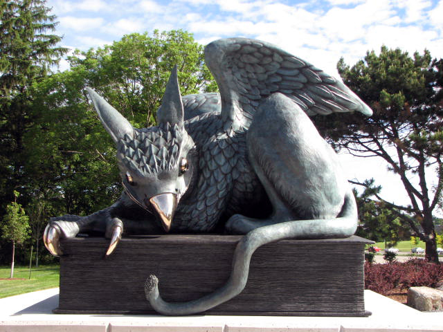 Gryphon Statue Only
