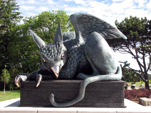 Guelph unveils unusual statue