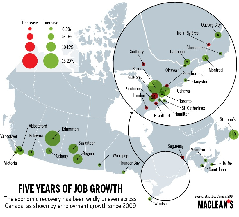 Putting Canada on the map