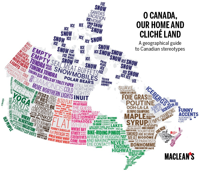 Putting Canada on the map – Map of the Canadian Provinces