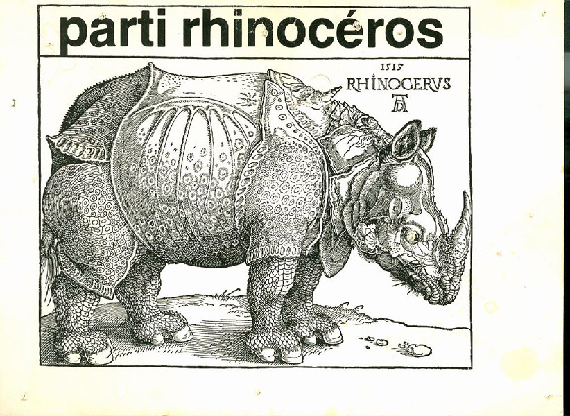 14 weird platform promises from the now-defunct Rhinoceros Party