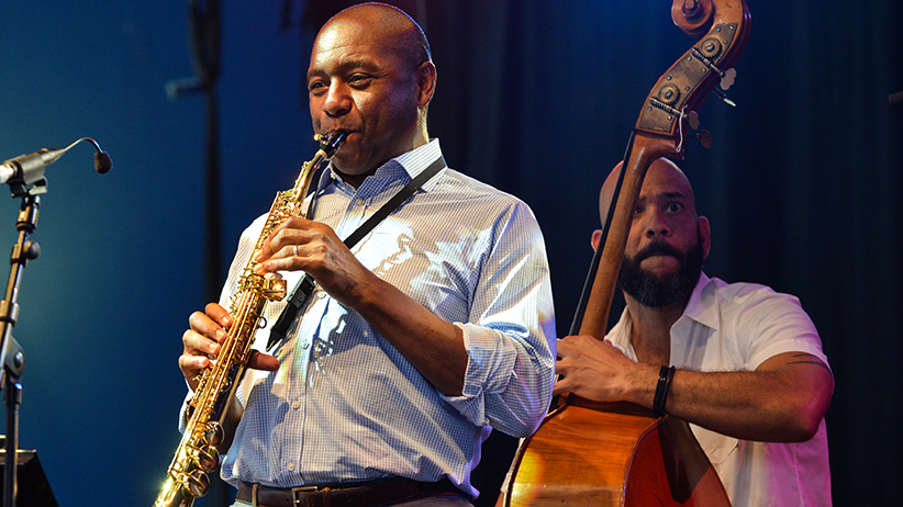 Branford Marsalis Quartet perform at Love Supreme 2013