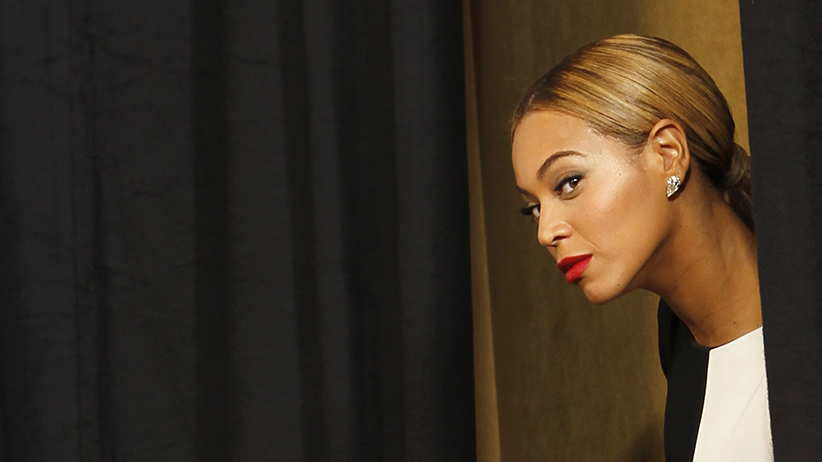 Beyonce at the Grammy Awards. (Mario Anzuoni/Reuters)