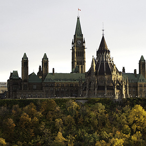 Parliament Hill and the Library of Canada in the fall in Ottawa, Ont. on Oct, 18, 2012. THE CANADIAN PRESS IMAGES/Lars Hagberg