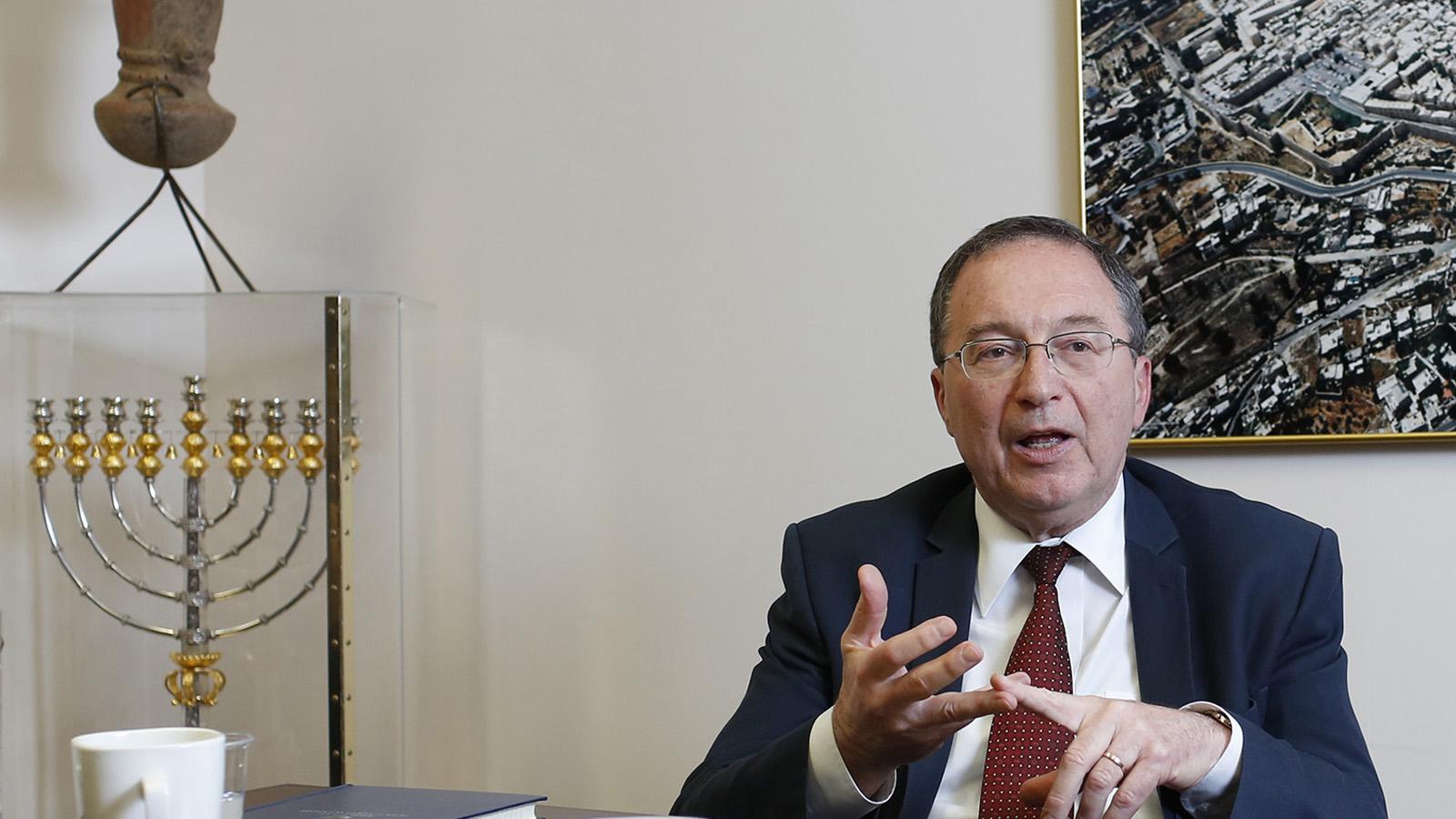 Israeli Ambassador, Mr. Rafael Barak