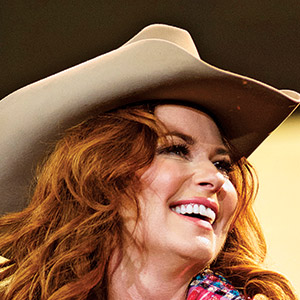 Shania Twain performs at the Calgary Stampede (Melissa Renwick/Getty Images)