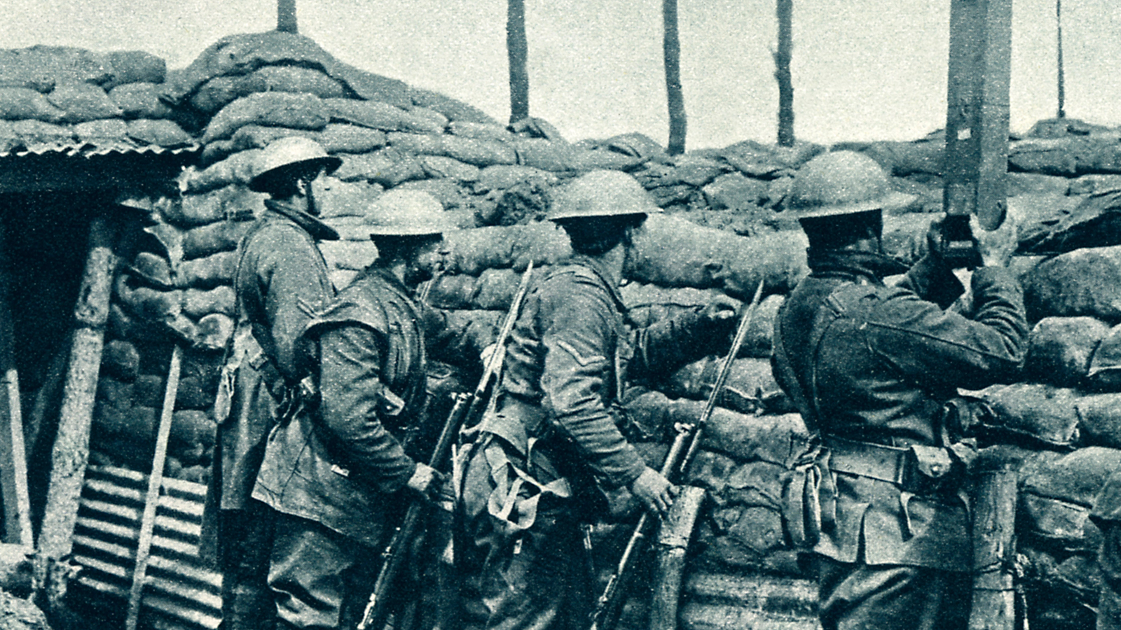 Canadian Infantry during World War 1