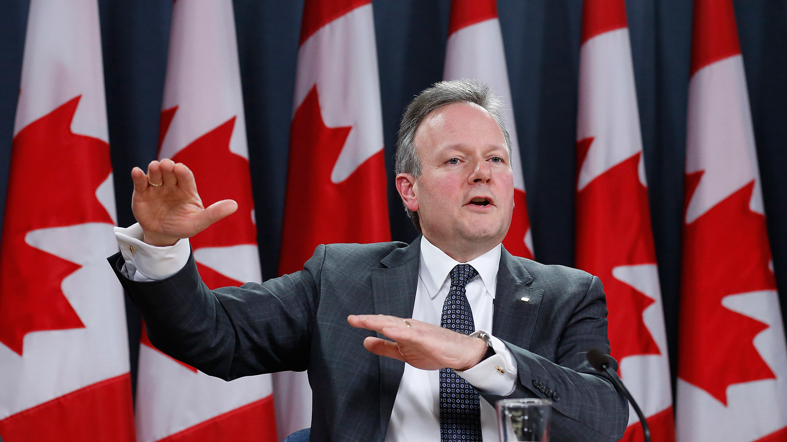 Bank of Canada Governor Stephen Poloz. (Chris Wattie/Reuters)