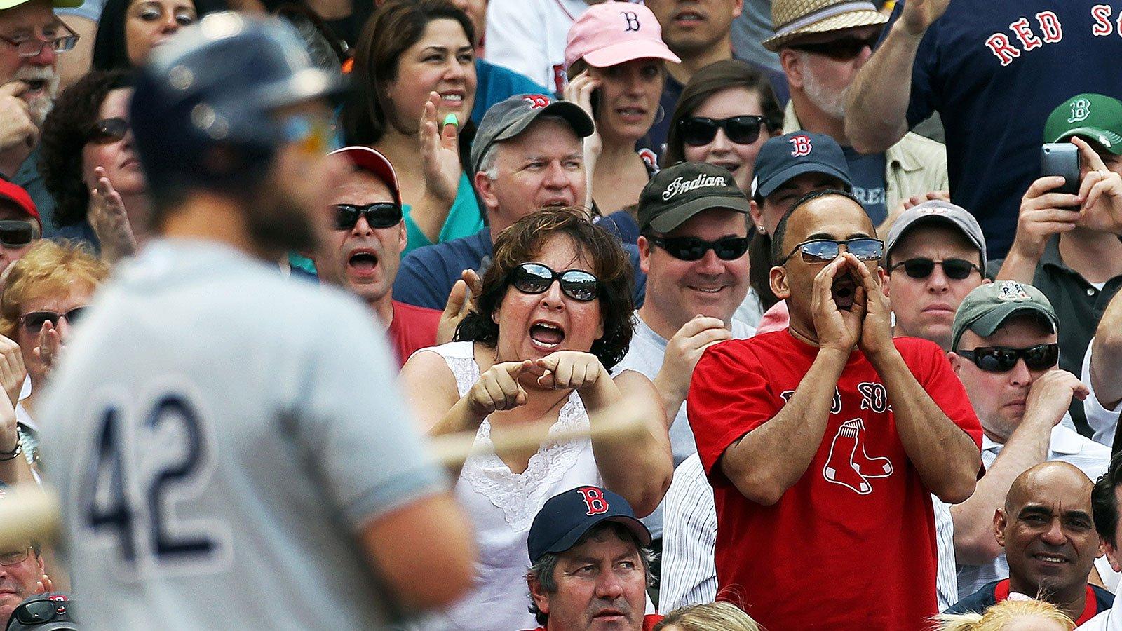 Tampa Bay Devil Rays Vs. Boston Red Sox At Fenway Park