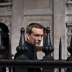 Novelist David Mitchell, London.