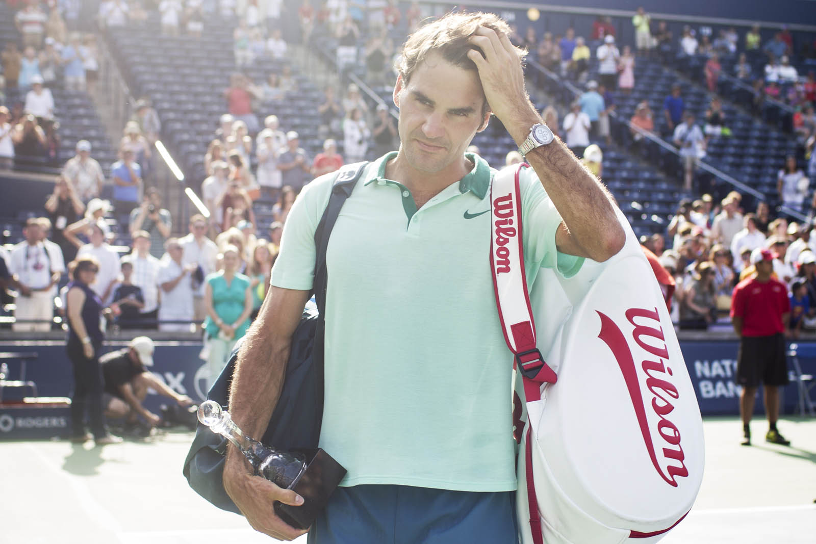 The best photos from the Rogers Cup, final day