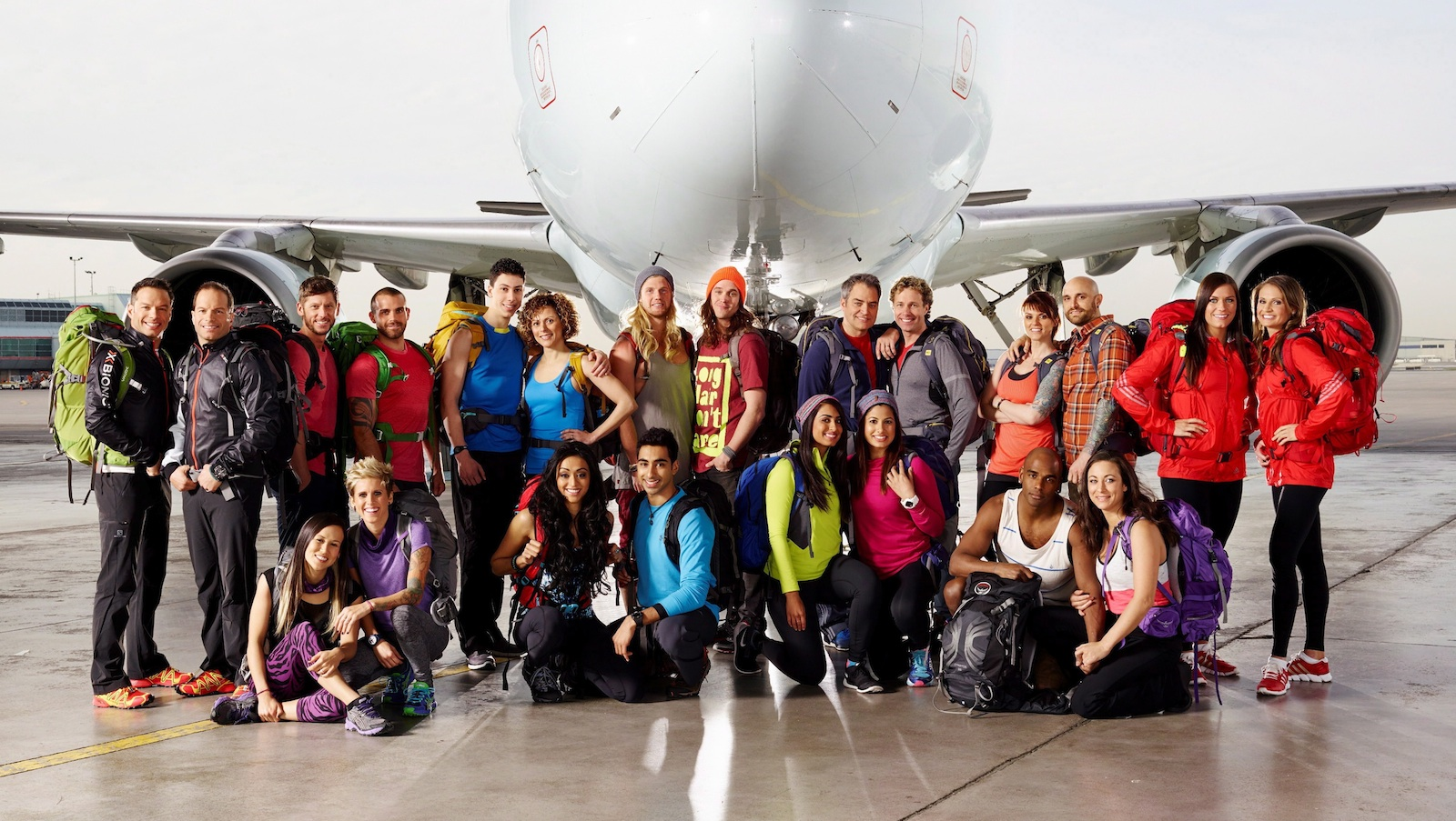 "The cast of the second season of ""Amazing Race Canada"" is shown in a handout photo. (The Canadian Press)"