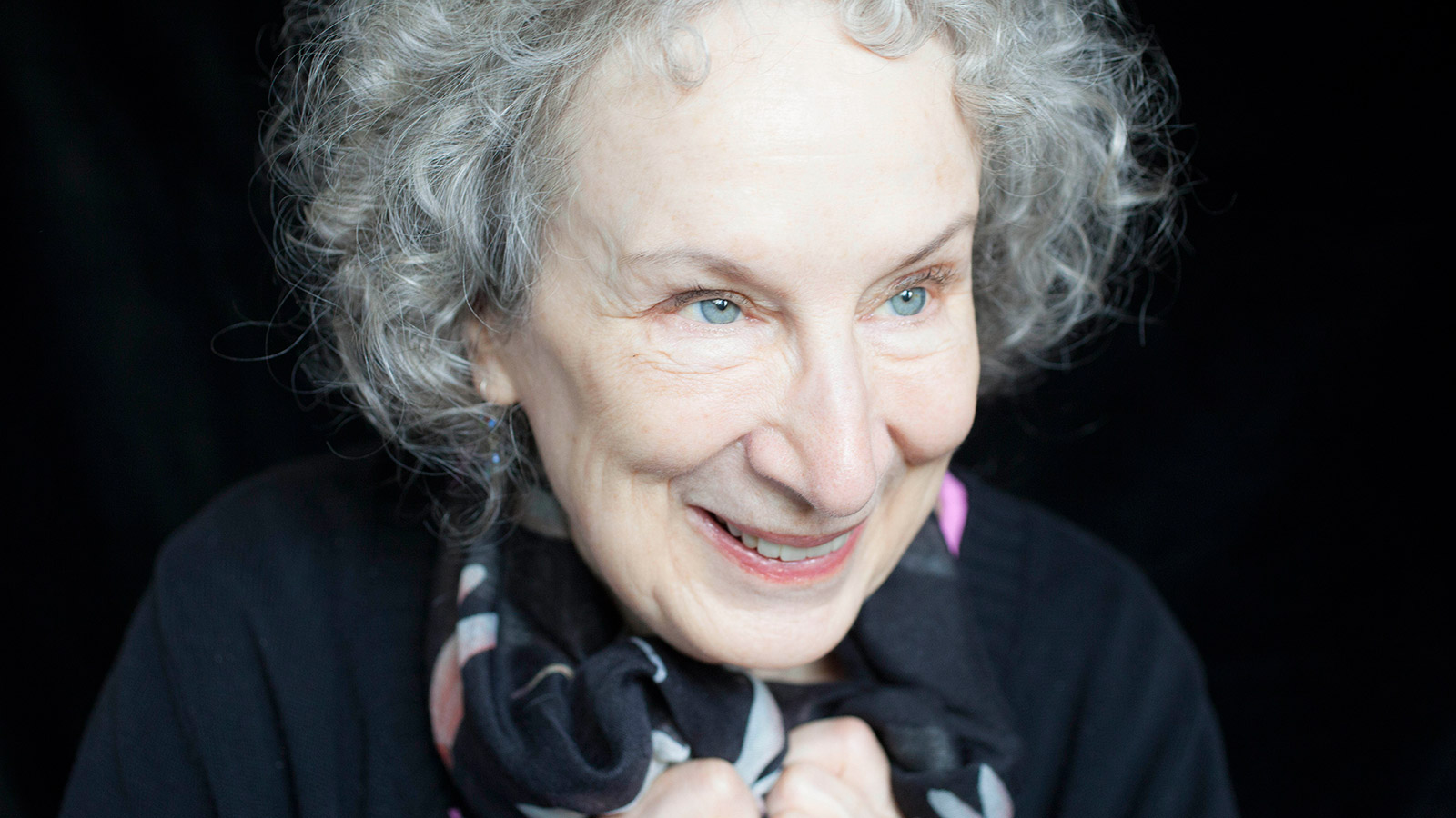margaret atwood returns from the future to this moment
