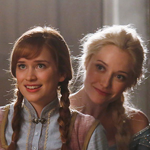 A fairy tale match: Frozen's Elsa and Anna come to Once Upon a Time