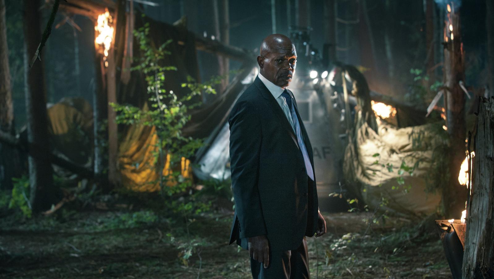 Samuel L. Jackson stars in Big Game (TIFF)